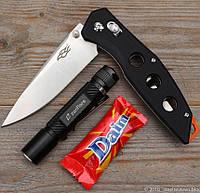 Складной нож EDC Firebird 7621-bk Облегченный