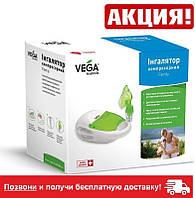 ИНГАлятор компрессорный небулайзер VEGA Family Сервис и Гарантия!