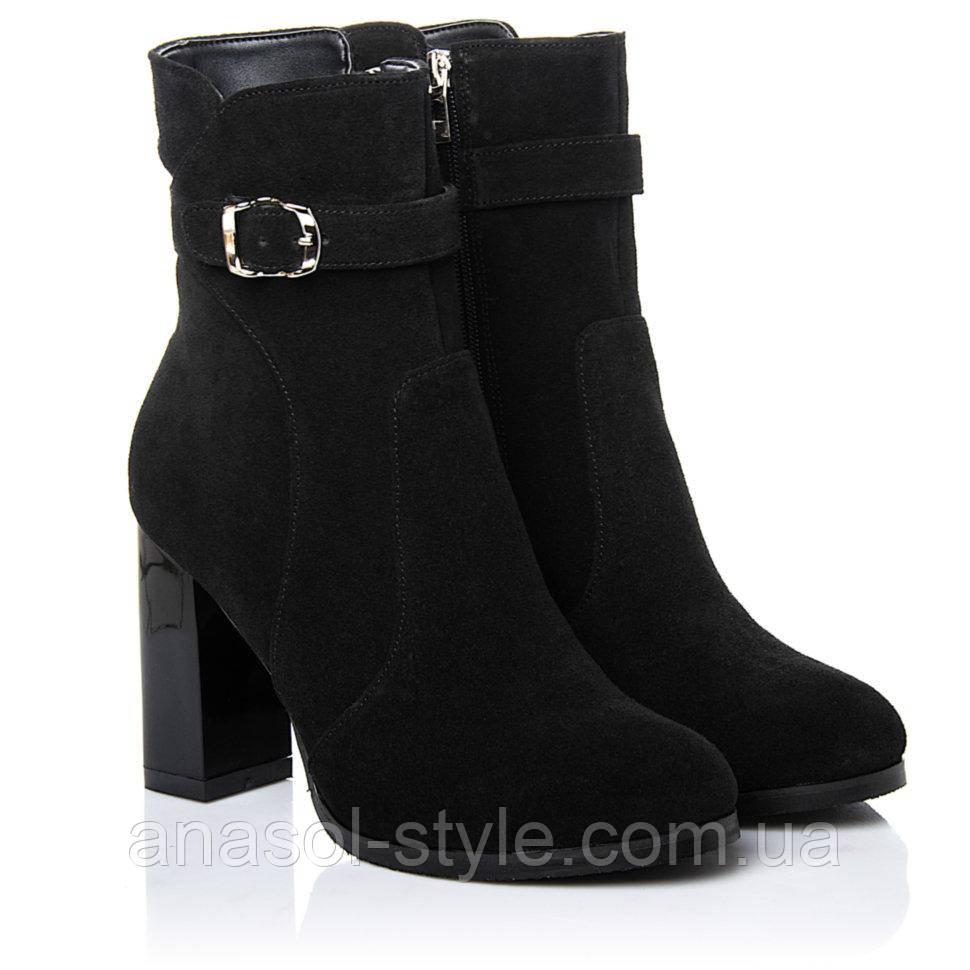 Ботинки La Rose 2260 40(26,8см) Черная замша