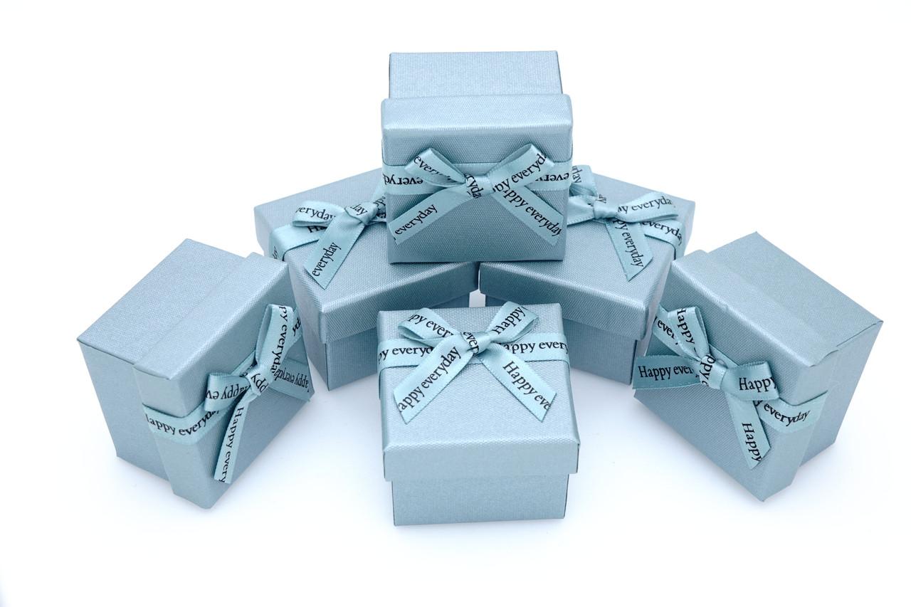 Коробка ювелирная box1-2 Голубой