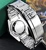 Мужские кварцевые наручные часы Rolex Submariner Silver-Black, фото 3