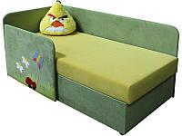 Детский угловой диванчик с бортиком. Детская малютка