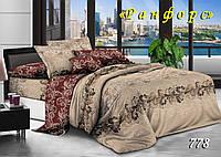 Комплект постельного белья Тет-А-Тет евро 778 ранфорс