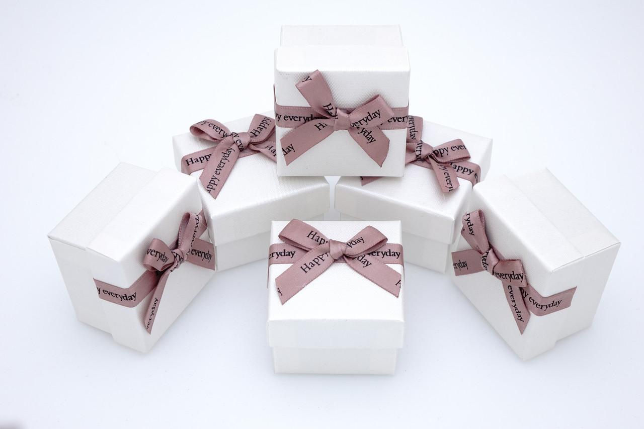 Коробка ювелирная Boxshop #box1-2 Белый