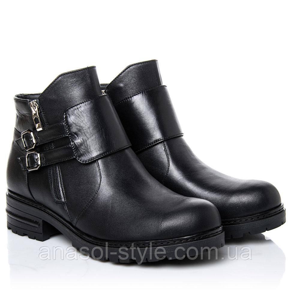 Ботинки La Rose 2264 36(24 см) Черная кожа