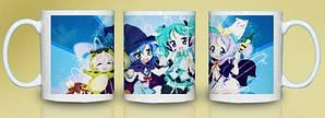 Кружка чашка Vocaloid Вокалоиды
