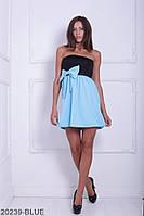 Жіноче плаття Подіум Aleksis 20239-BLUE XS Голубий