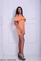 Жіноче плаття Подіум Dakota 20237-ORANGE XS Помаранчевий