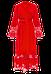 Красный длинный халат Suavite Marielle, фото 3