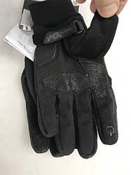 Кожаные мотоперчатки Metropole windout Black C85 итальянской маркиSPIDI  размер L