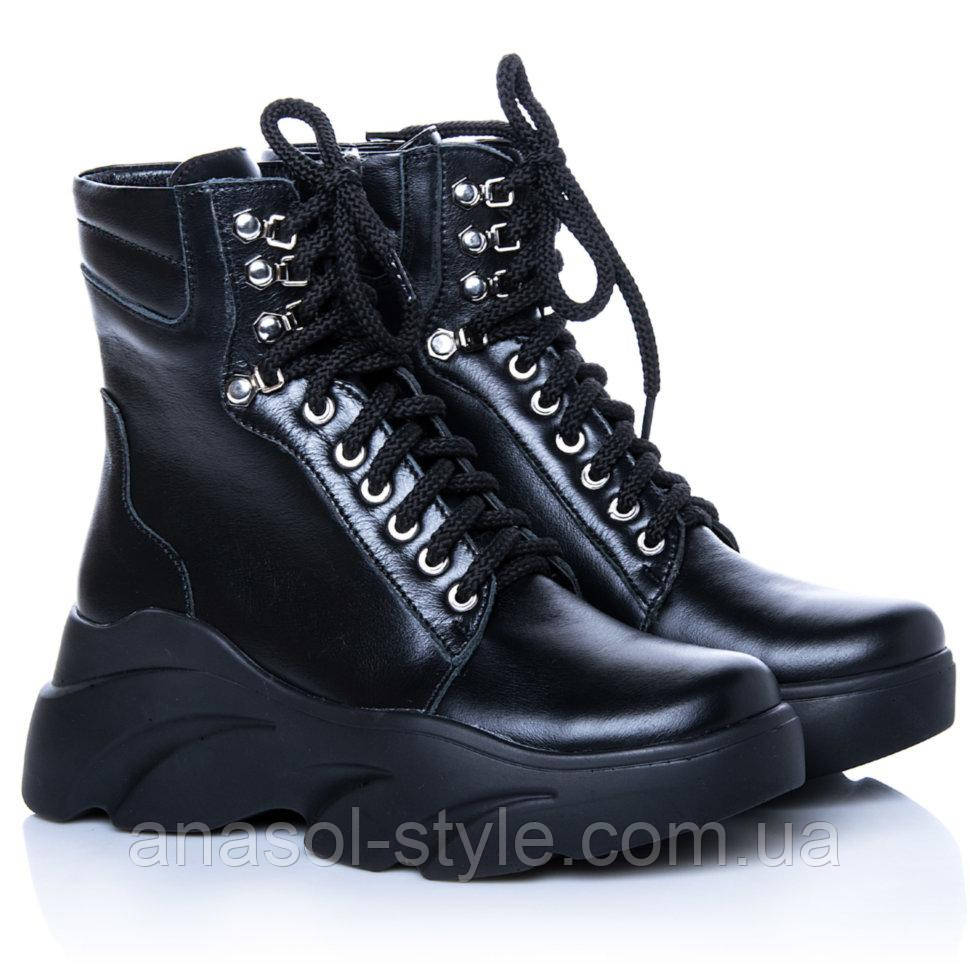 Ботинки La Rose 2270 36(23,4см) Черная кожа