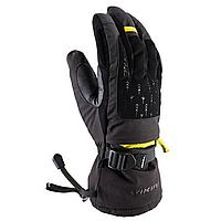 Гірськолижні рукавиці Viking Bora чорний-жовтий | розмір - 8