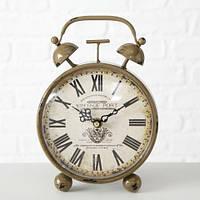 Настольные часы Orleans коричневый металл h13см 4655800