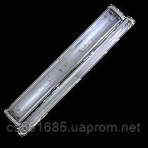 2x18W_Т8_G13 (ЛПО 2х20) PLF 30 - электронный балласт. Светильник люминесцентный накладной MAGNUM (Магнум)