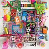 Игровой набор Рюкзачок trips & kids оранжевый для девочек 3-5 лет, фото 3