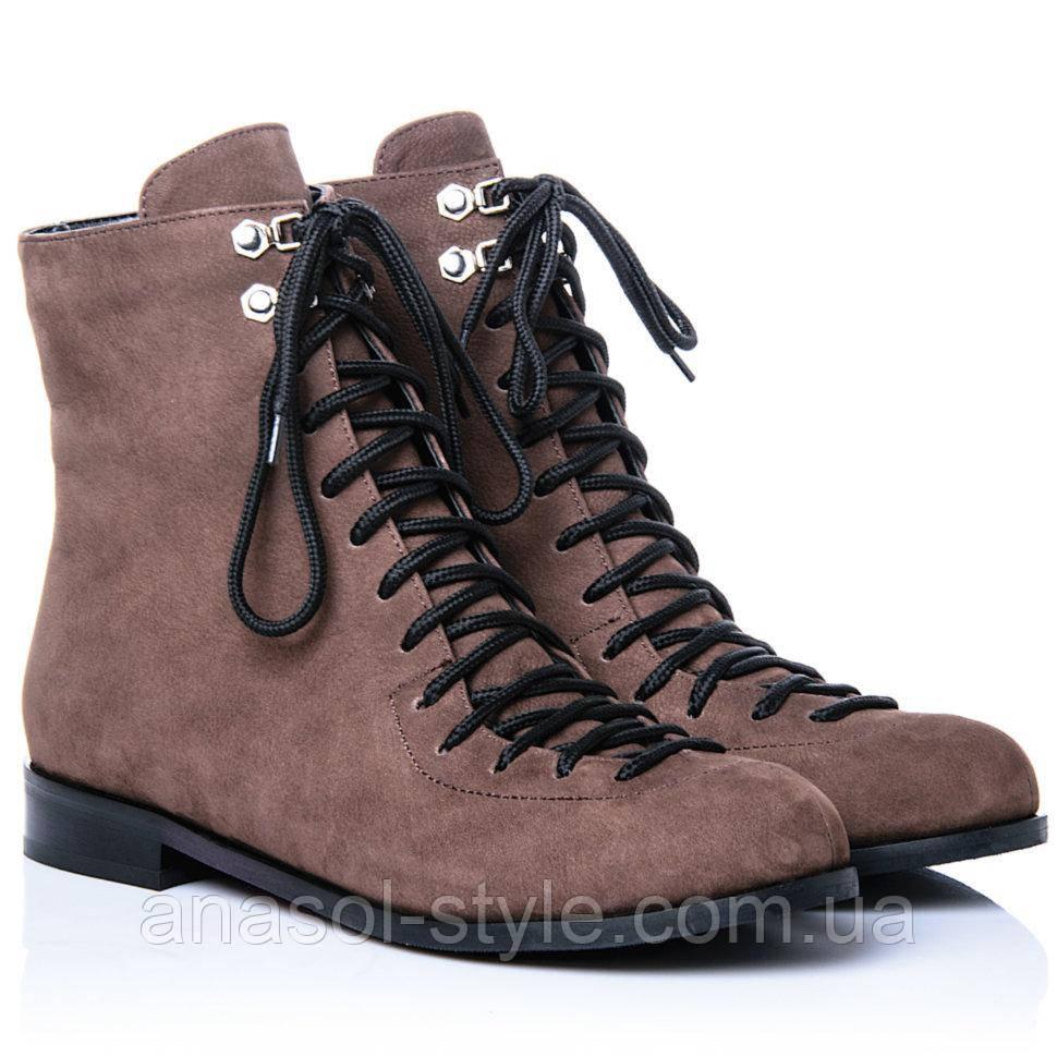 Ботинки La Rose 2272 37(24,6см) Коричневый нубук