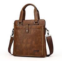Мужская кожаная сумка. Модель DM-36, фото 4