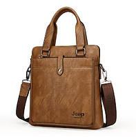 Мужская кожаная сумка. Модель DM-36, фото 5