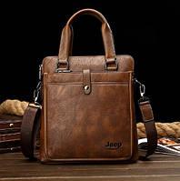 Мужская кожаная сумка. Модель DM-36, фото 6