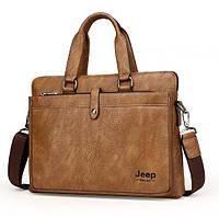 Мужская кожаная сумка. Модель DM-36, фото 9