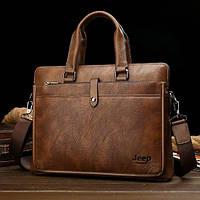 Мужская кожаная сумка. Модель DM-36, фото 8