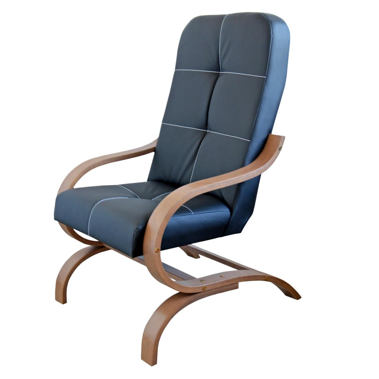 Конференц кресло Bonro Comfort Manila (экокожа черный)