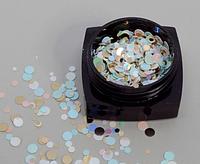 Декор для ногтей Starlet Professional конфетти (камифубуки) №01