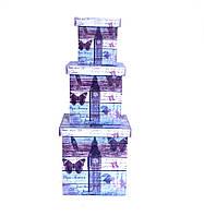 Шкатулка-коробка набор из 3-х — Биг Бен SH31383-084
