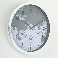 Настенные часы пластик d35см 1019926
