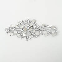 Настенный декор Рубин серебро 95*43см 6272800