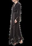 Довгий жіночий халат Suavite Marielle графіт, фото 2