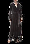 Довгий жіночий халат Suavite Marielle графіт, фото 3