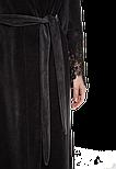 Довгий жіночий халат Suavite Marielle графіт, фото 5