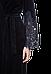 Велюровый женский халат Suavite Marielle темно-синий, фото 5