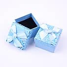 Коробочка подарочная box1-4 Голубой, фото 2