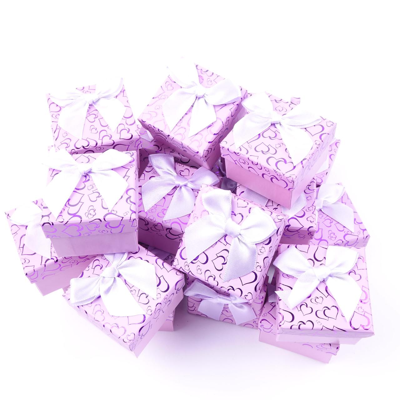 Коробочка подарочная box1-4 Фиолетовый