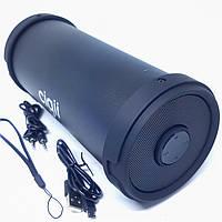 Портативна блютуз колонка Bluetooth акустика FM MP3 AUX USB Cigii S33 Чорна