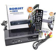 Цифровий ефірний Тюнер T2 ресівер приставка з функцією відеозапису HDMI USB 2.0 Romsat TR-2018HD