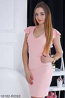 Жіноче плаття Подіум Linda 18182-ROSE XS Рожевий