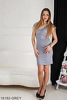 Жіноче плаття Подіум Linda 18182-GREY XL Сірий