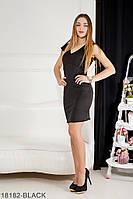 Жіноче плаття Подіум Linda 18182-BLACK M Чорний