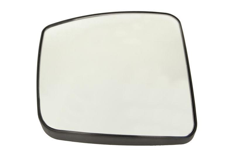 Стекло зеркала левое (с подогревом) MERCEDES ACTROS 04.96
