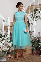 Очаровательное платье на торжество, размер от 42 до 48