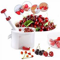 Машинка для удаления косточек Отделитель косточек из вишни черешни маслин и оливок Cherry Pitter