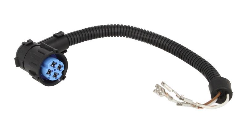 Штекер электрический 4 контактный с проводами