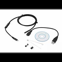 USB Эндоскоп 7 мм камера видеонаблюдения водонепроницаемая с подсветкой для Android и ПК Endoscope 2 м