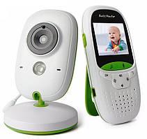 Видеоняня система наблюдения с ночным видением и голосовой активацией радионяня Baby Monitor VB602