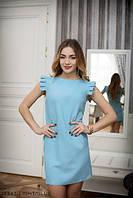 Жіноче плаття Подіум Saga 17942-LIGHT/BLUE XS Голубий