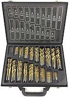 Профессиональный набор титановых сверл LEX 170 единиц LXC1700