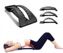 Тренажер Місток 3-х рівневий масажер для спини і хребта Back Support Magic